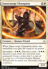 Sunscourge Champion - Hour of Devastation