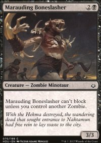 Marauding Boneslasher - Hour of Devastation