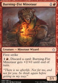 Burning-Fist Minotaur - Hour of Devastation