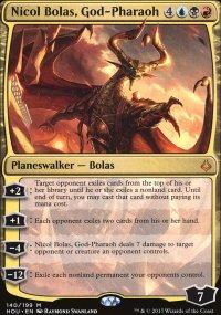 Nicol Bolas, God-Pharaoh - Hour of Devastation