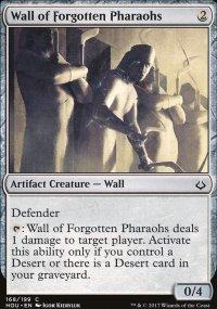 Wall of Forgotten Pharaohs - Hour of Devastation