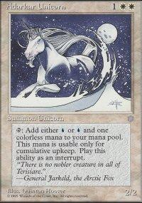 Adarkar Unicorn - Ice Age