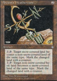 Arcum's Weathervane - Ice Age