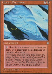 Glacial Crevasses - Ice Age