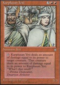 Karplusan Yeti - Ice Age