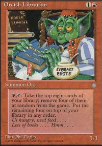 Orcish Librarian - Ice Age