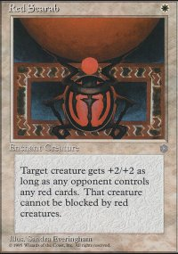 Red Scarab - Ice Age