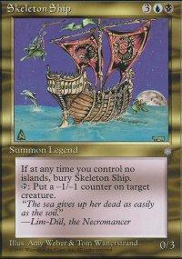 Skeleton Ship - Ice Age