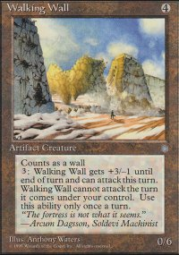 Walking Wall - Ice Age
