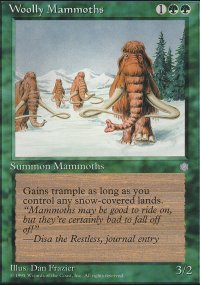 Woolly Mammoths - Ice Age