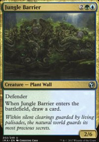 Jungle Barrier - Iconic Masters