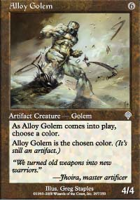 Alloy Golem - Invasion