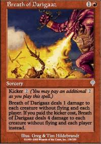Breath of Darigaaz - Invasion