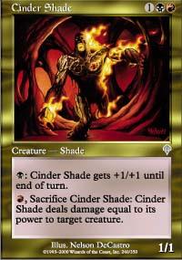Cinder Shade - Invasion