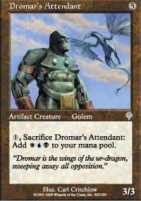 Dromar's Attendant - Invasion
