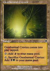 Geothermal Crevice - Invasion