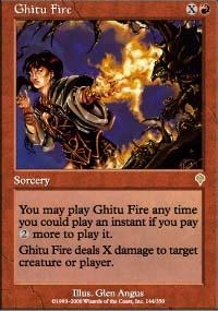 Ghitu Fire - Invasion
