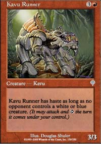 Kavu Runner - Invasion