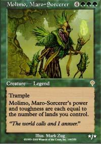 Molimo, Maro-Sorcerer - Invasion