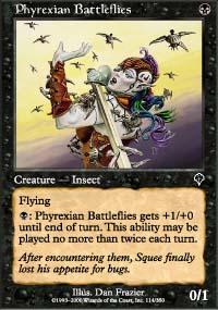 Phyrexian Battleflies - Invasion