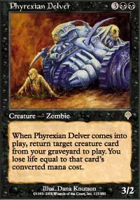 Phyrexian Delver - Invasion
