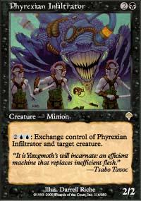 Phyrexian Infiltrator - Invasion