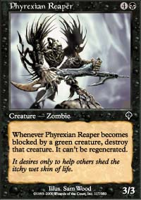 Phyrexian Reaper - Invasion