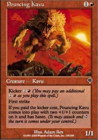 Pouncing Kavu - Invasion
