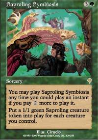Saproling Symbiosis - Invasion
