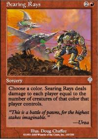 Searing Rays - Invasion