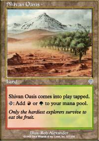 Shivan Oasis - Invasion