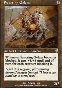 Sparring Golem - Invasion