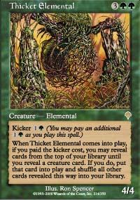 Thicket Elemental - Invasion
