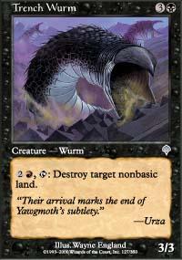 Trench Wurm - Invasion