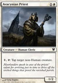 Avacynian Priest - Innistrad