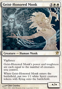 Geist-Honored Monk - Innistrad