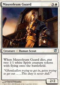Mausoleum Guard - Innistrad