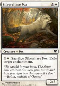 Silverchase Fox - Innistrad