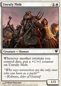Unruly Mob - Innistrad