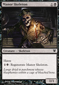 Manor Skeleton - Innistrad