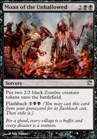 Moan of the Unhallowed - Innistrad