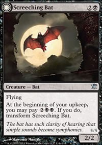 Screeching Bat - Innistrad