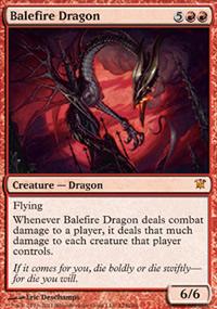 Balefire Dragon - Innistrad