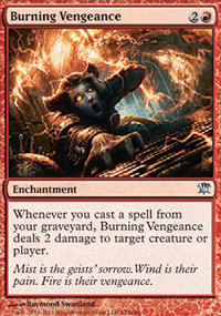 Burning Vengeance - Innistrad