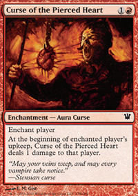 Curse of the Pierced Heart - Innistrad