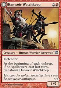 Hanweir Watchkeep - Innistrad