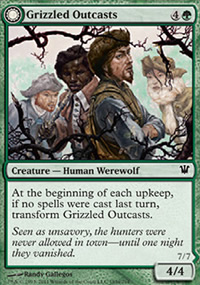 Grizzled Outcasts - Innistrad