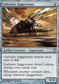 Galvanic Juggernaut - Innistrad