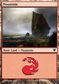 Mountain 3 - Innistrad