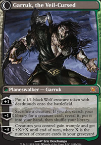 Garruk, the Veil-Cursed - Innistrad